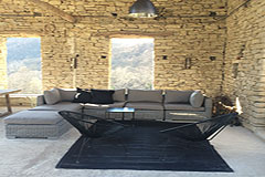 Restored Luxury Stone Country House in Piemonte - Terrace area