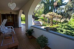Country house for sale in the Piemonte region of Italy - Terrace area