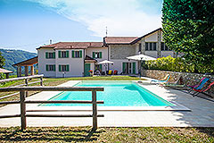 Luxury Country Home for sale in the Piemonte region of Italy - Prestigious country house  in a tranquil position with swimming pool