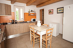 Luxury Country Home for sale in the Piemonte region of Italy - Kitchen area