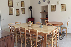 Luxury Country Home for sale in the Piemonte region of Italy - Dining-Room