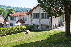 Luxury Country Home for sale in the Piemonte region of Italy - Rear view of the property