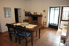 Casa situata nel centro del paese in vendita in Piemonte - Dining area