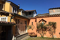 Historic village property for sale in Piemonte - Traditional Italian village house with garden and terraces located in the most beautiful village setting