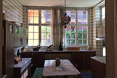 Historic village property for sale in Piemonte - Kitchen area
