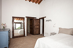 Luxury Country Home with Pool for sale in Piemonte Italy - Master Bedroom