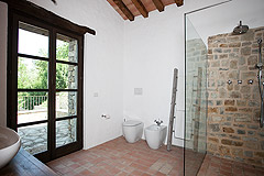 Luxury Country Home with Pool for sale in Piemonte Italy - Bathroom