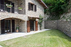 Luxury Country Home with Pool for sale in Piemonte Italy - Exposed stone is a feature