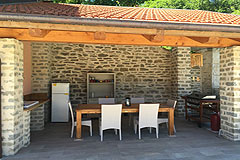 Luxury Country Home  for sale in Piemonte - Outside kitchen