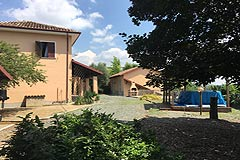 Country House for sale in Piemonte Italy - Courtyard