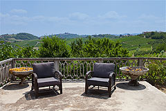 Country House for sale in Piemonte Italy - Terrace area