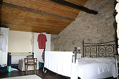 Rustic Italian farmhouse for sale in Piemonte Italy - Bedroom