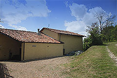 Country House for sale in Piemonte - Back view