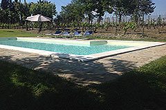 Casa con piscina in vendita in Piemonte - Pool area