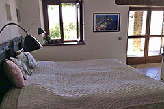 Luxury Country Home with swimming pool for sale in Piemonte - Bedroom