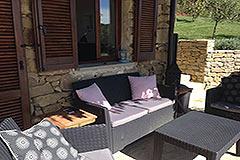 Elegante casa in pietra con piscina in vendita in Piemonte - Terrace