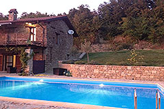 Luxury Country Home with swimming pool for sale in Piemonte - Pool area