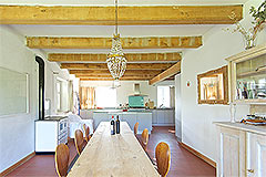 Country Estate with Vineyard for sale in Piemonte - Dining area