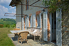 Country Estate with Vineyard for sale in Piemonte - Terrace area