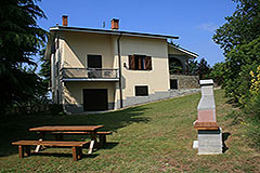 Italian Villa for sale in Piemonte - View of the property