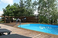 Italian Villa for sale in Piemonte - Pool area