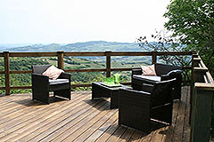 Italian Villa for sale in Piemonte - Terrace area