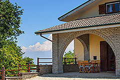 Italian Villa for sale in Piemonte - Terrace