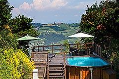 Italian Villa for sale in Piemonte - Panoramic position