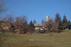Country Estate for sale in Piemonte - Distant view of property