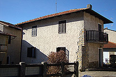 Village House for sale , Piemonte - Courtyard