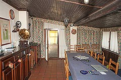 Traditional Italian farmhouse for sale in Piemonte - Dining area