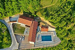 Luxury Stone Property for sale in Piemonte Italy - Traditional L shape
