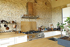 Luxury Stone Property for sale in Piemonte Italy - Kitchen