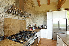 Luxury Stone Property for sale in Piemonte Italy - High quality kitchen units