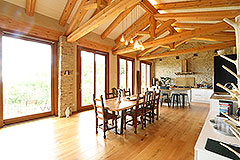 Luxury Stone Property for sale in Piemonte Italy - Kitchen/dining area