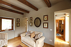 Luxury Stone Property for sale in Piemonte Italy - Upstairs living area