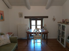 Country Stone Cottage for sale in the Langhe  region of Piemonte - Office