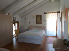 Country Stone Cottage for sale in the Langhe  region of Piemonte - Bedroom