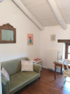 Country Stone Cottage for sale in the Langhe  region of Piemonte - Living area