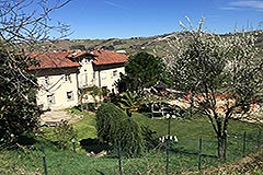 Luxury Country House for sale in the Piemonte region of Italy. - The property is in an elevated position