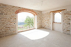 Restored Farmhouse for sale in Piemonte Italy - Interior