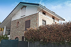 Country Property for sale in Piemonte - Back view