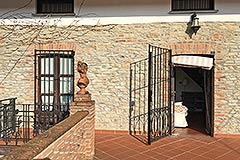 Country Property for sale in Piemonte - Entrance to terrace