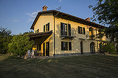 Country property for sale in Piemonte - Front view