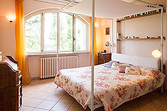 Luxury Property for sale in Piemonte Italy - Main House - Bedroom