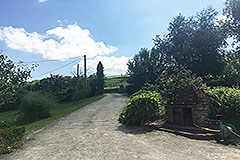 Italian farmhouse for sale in Piemonte - Entrance