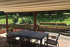 Italian farmhouse for sale in Piemonte - Terrace area