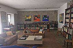 Italian farmhouse for sale in Piemonte - Living area