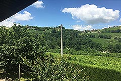 Italian farmhouse for sale in Piemonte - Views from the barn