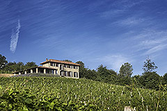 Luxury Property for sale in Piemonte Italy - Panoramic position